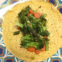 Crepes con verdure croccanti step 5