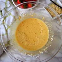 Plumcake alle fragole e ricotta senza burro step 1