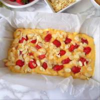 Plumcake alle fragole e ricotta senza burro step 3