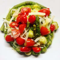 Gnocchi alla crema di asparagi