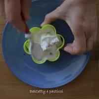 Tortas con crema de queso ricotta paso 11