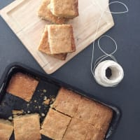 Blondies: New York recipe