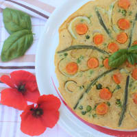 Finta garbanzos primavera tortilla