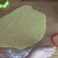 Short pastry cookies to decorate step 4