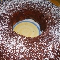 Ciambella ai tre cioccolati step 7