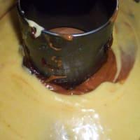 Ciambella ai tre cioccolati step 6