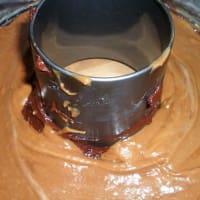 Ciambella ai tre cioccolati step 5