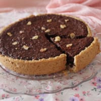 brownie tart