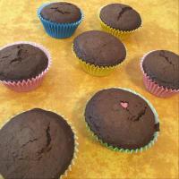 Chocolate cupcake with oatmeal step 5