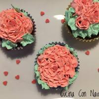 Chocolate cupcake with oatmeal step 7