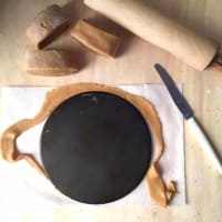 Pastel de capas CON yogur con miel y nata paso 8