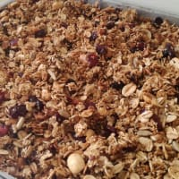 Homemade granola step 2