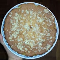 Almond cake and lemon gluten free