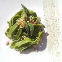 Fetuccini casero de espinaca