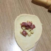 Danubio queso y salami paso 2