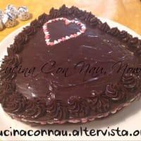 Pastel de chocolate ganache de chocolate y menta paso 9
