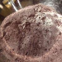 Biscotti al cocco e cioccolato step 1