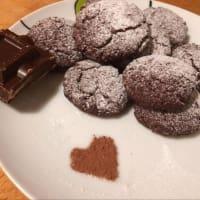 Biscotti al cocco e cioccolato step 4