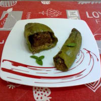Peppers Stuffed With Meat...