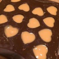 Cioccolatini al caramello salato step 5