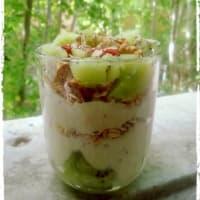 Vegan Overnight Oat Al Kiwi