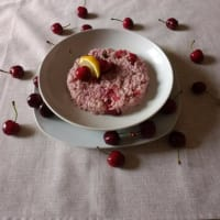 Cherries Risotto