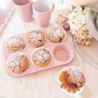 Muffin con farina di riso, frutta secca e mirtilli step 6