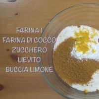 Biscotti al cocco Ricetta Vegana step 1