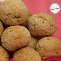 Receta de las galletas de coco vegano paso 6