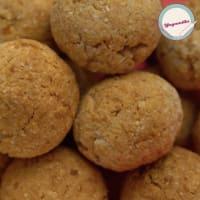 Receta de las galletas de coco vegano