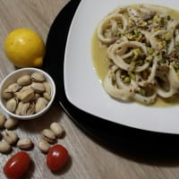 Calamares y pistachos paso 6