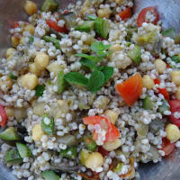 Sorghum With Vegetables And Legumes