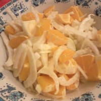 Oranges fennel salad