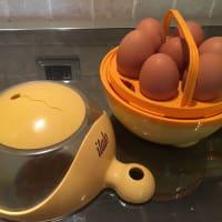Huevos rellenos paso 1