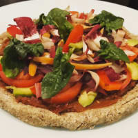 Pizza Raw Vegan vegan crudista