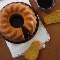 calabaza rosquilla con nueces y jarabe de arce
