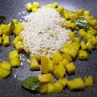 Risotto al mango con pepe e zenzero step 5