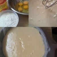 Mocha pie step 1
