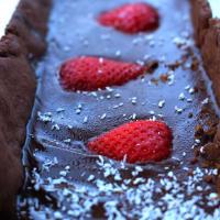 Ganache de chocolate del vegano paso 3