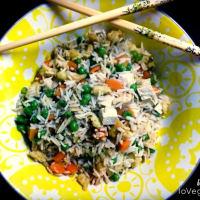 Cantonés arroz vegano paso 6