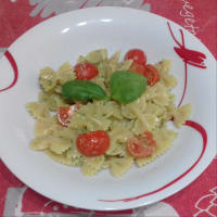 Butterflies With Pesto With Tomatoes ...