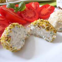 Trozos de queso fresco con hierbas paso 3