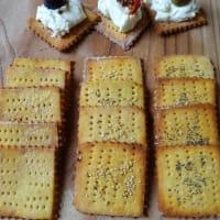 Crackers Con Farine Di Legumi