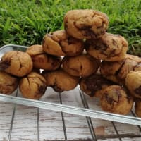 Pbchickpea Chocolate chips paso 1