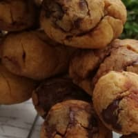 Pbchickpea Chocolate chips paso 3