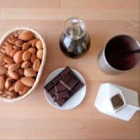 crema de cacao y almendras paso 1