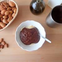 crema de cacao y almendras paso 2