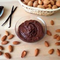 crema de cacao y almendras paso 3