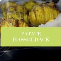 Hasselback patatas: una receta de Suecia
