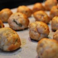Polpettine di pollo al limone e basilico step 4